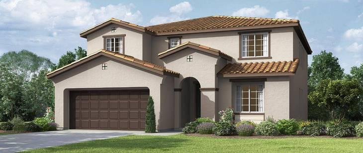 Elevation:Woodside Homes - Residence Five