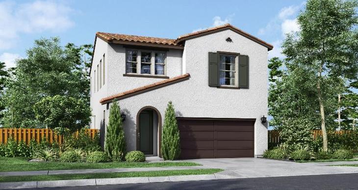 Elevation:Woodside Homes - Residence One