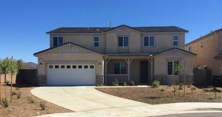 Elevation:Woodside Homes - Lot 141 Residence Three