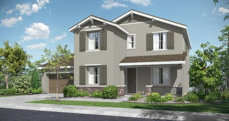 Elevation:Woodside Homes - Silver Trail Lot 28