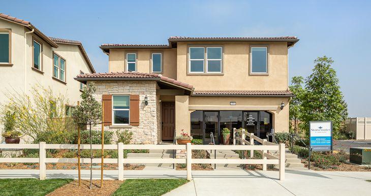 Elevation:Woodside Homes - Plan One