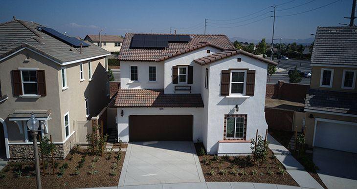 Elevation:Woodside Homes - Lot 25 Residence One