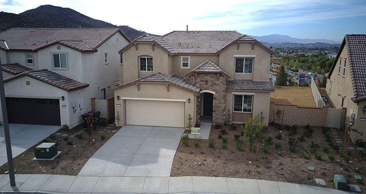 Elevation:Woodside Homes - Lot 55 Residence Four