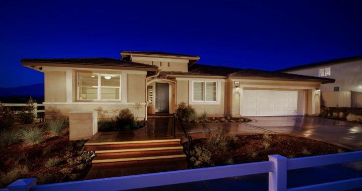Elevation:Woodside Homes - Residence Two