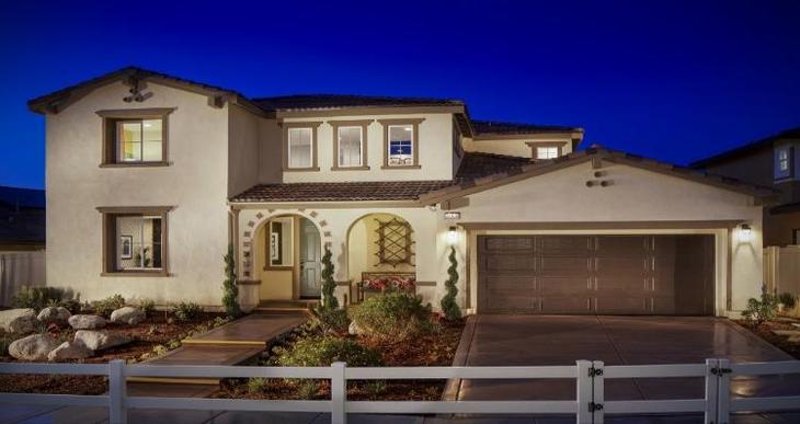 Elevation:Woodside Homes - Residence Three