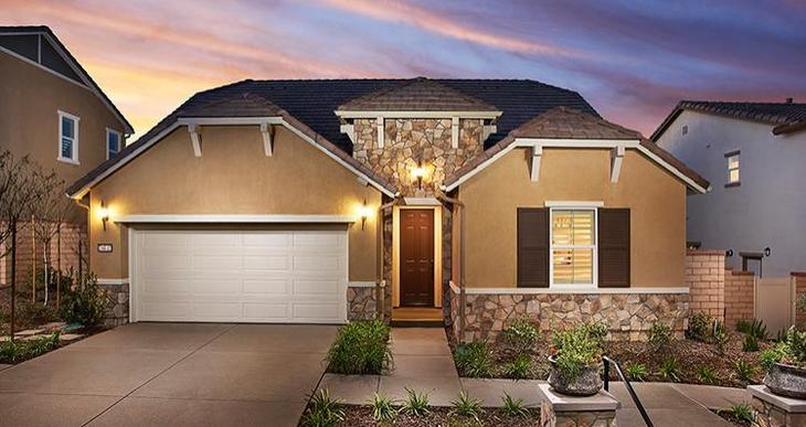 Elevation:Woodside Homes - Residence Three X