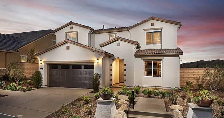 Elevation:Woodside Homes - Residence Four