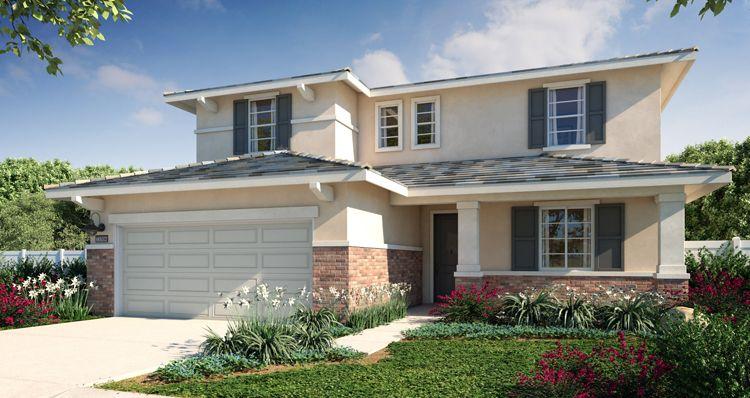 Exterior featured in the Plan 5 By Woodside Homes in Riverside-San Bernardino, CA