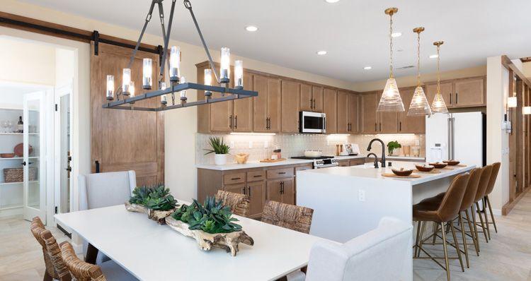 Kitchen featured in the Canopy Plan 3 By Woodside Homes in Riverside-San Bernardino, CA