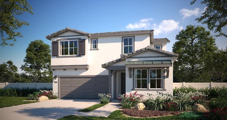 Exterior featured in the Plan 1 By Woodside Homes in Riverside-San Bernardino, CA