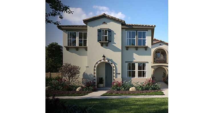 Exterior featured in the Plan 3 By Woodside Homes in Riverside-San Bernardino, CA