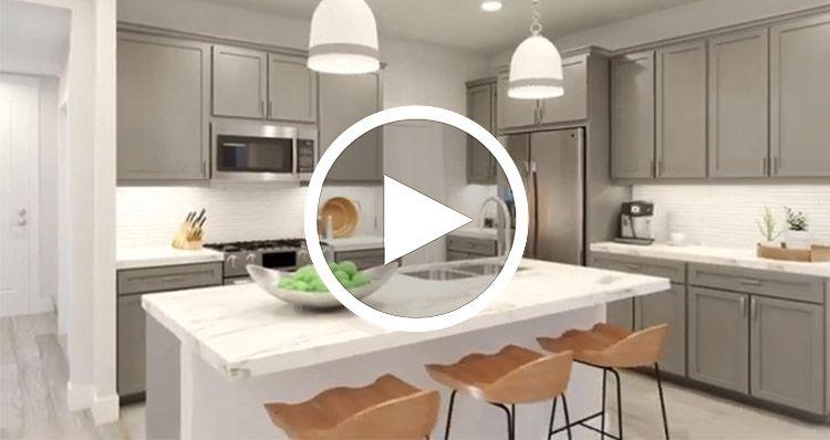 Kitchen featured in the Plan 3 By Woodside Homes in Riverside-San Bernardino, CA