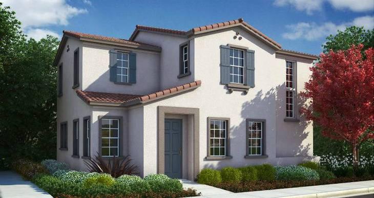 Elevation:Woodside Homes - Marron Plan 1