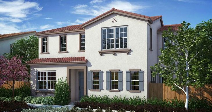 Elevation:Woodside Homes - Cambrian Plan 2