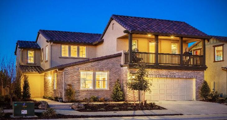 Elevation:Woodside Homes - Plan 2618 - D #98