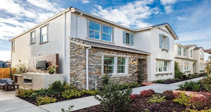 Elevation:Woodside Homes - Cambrian Plan 2 - C #8
