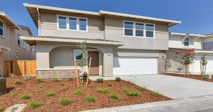 Elevation:Woodside Homes - Plan 1 -B #2