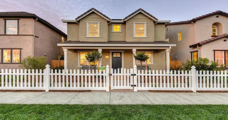 Elevation:Woodside Homes - Plan 3 -C #0116