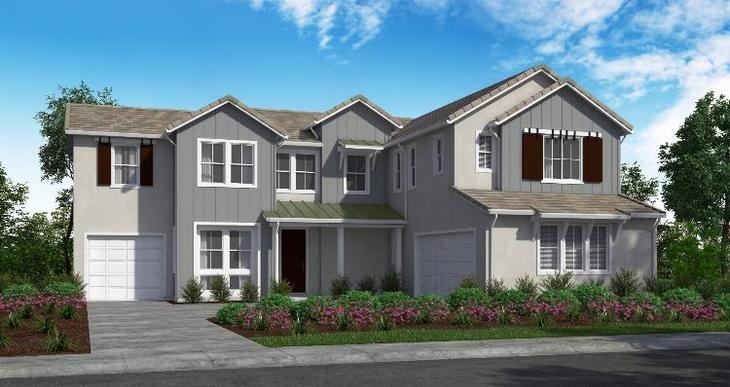 Elevation:Woodside Homes - Plan 2 - D #21