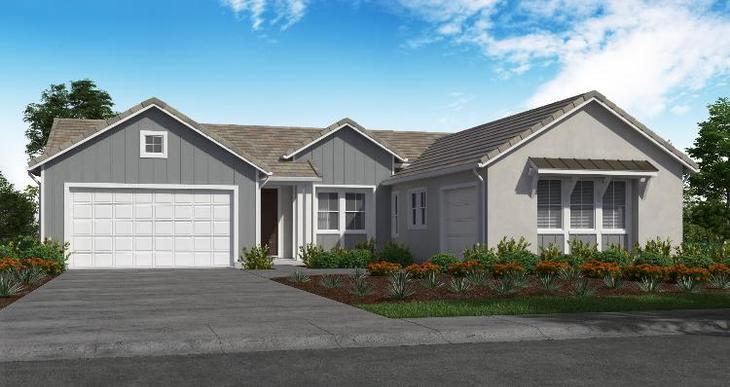 Elevation:Woodside Homes - Plan 1 - D #53