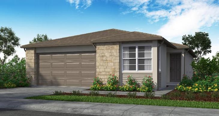 Elevation:Woodside Homes - Plan 1 - 1726