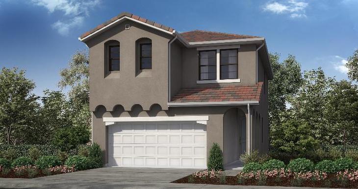 Elevation:Woodside Homes - Plan 3 - A #8