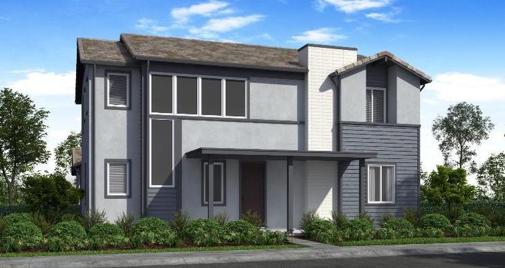 Elevation:Woodside Homes - Plan 2 - D #64