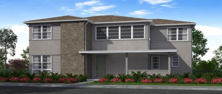 Elevation:Woodside Homes - Plan 3