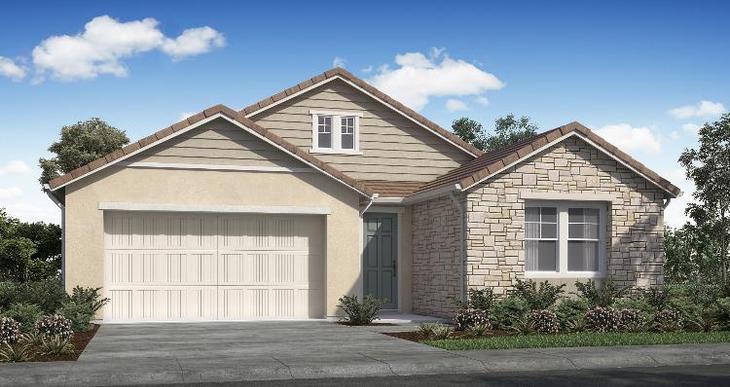 Elevation:Woodside Homes - Lot 45 - Plan 2