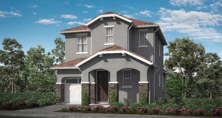 Elevation:Woodside Homes - Plan 5