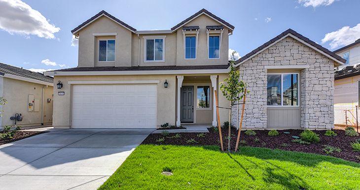 Elevation:Woodside Homes - Plan 2539 - A #52