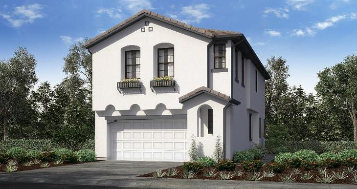 Elevation:Woodside Homes - Plan 4 - Lot 20