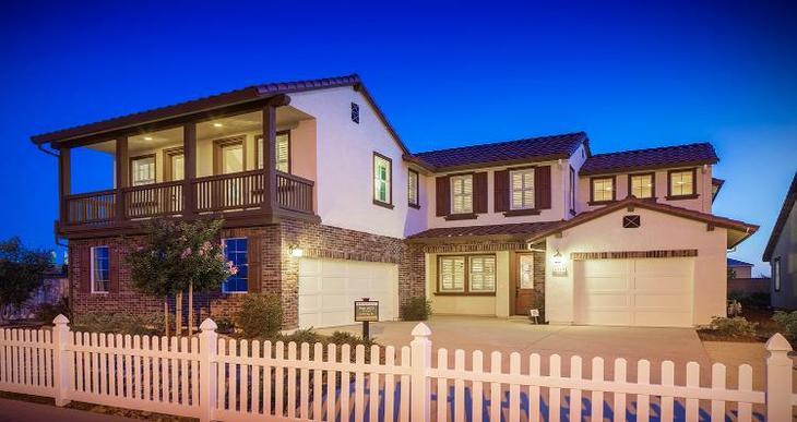 Elevation:Woodside Homes - Plan 3473 -D #1