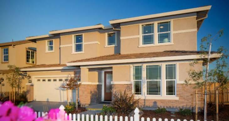 Elevation:Woodside Homes - Stonehenge Plan 4