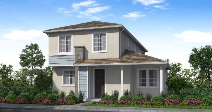 Elevation:Woodside Homes - Plan 2 - C #102