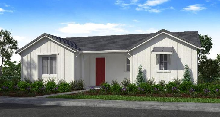 Elevation:Woodside Homes - Plan 1 - E #59