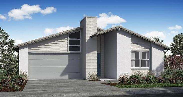 Elevation:Woodside Homes - Plan 1