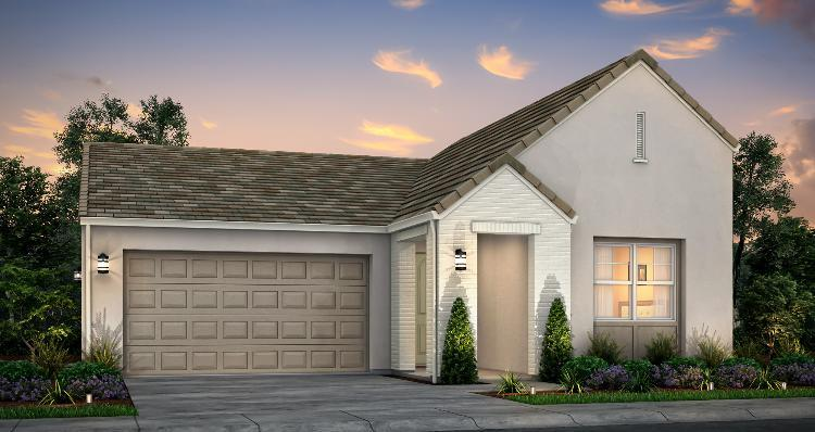 Exterior featured in the Plan 1 By Woodside Homes in Stockton-Lodi, CA