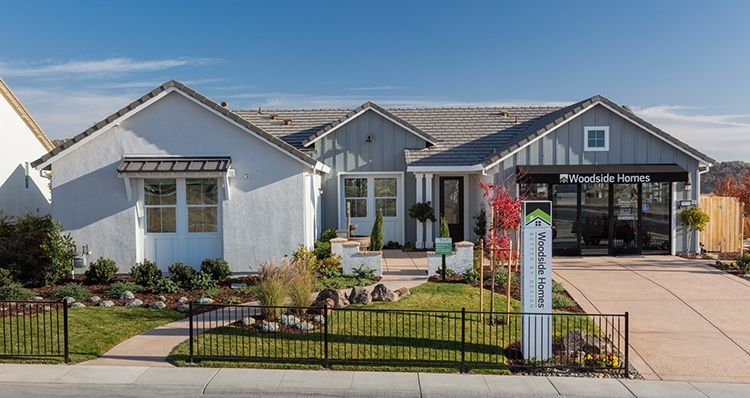 Exterior featured in the Plan 1 By Woodside Homes in Sacramento, CA