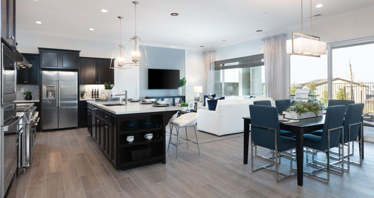 Living Area featured in the Plan 1 By Woodside Homes in Sacramento, CA