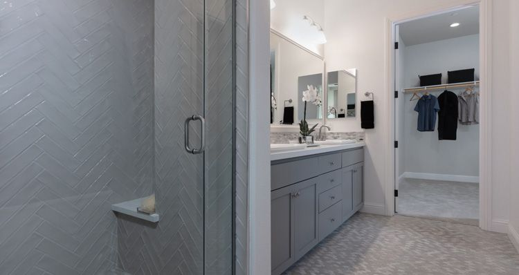 Bathroom featured in the Plan 1 By Woodside Homes in Sacramento, CA