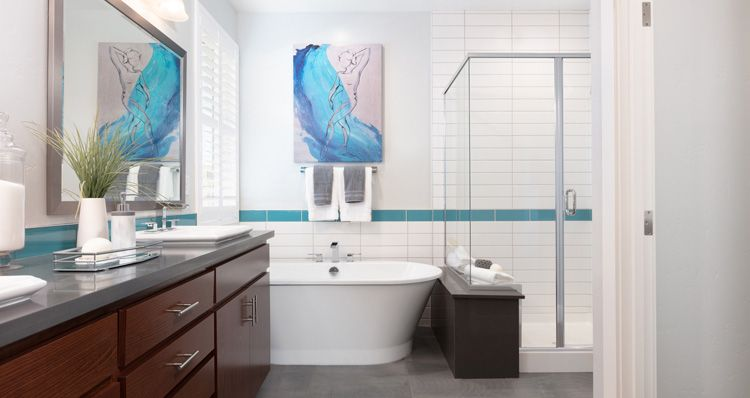Bathroom featured in the Plan 3 By Woodside Homes in Sacramento, CA
