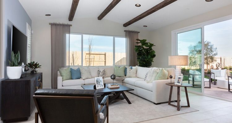 Living Area featured in the Plan 4 By Woodside Homes in Sacramento, CA