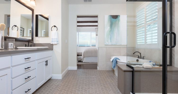 Bathroom featured in the Plan 4 By Woodside Homes in Sacramento, CA