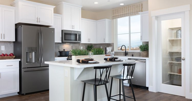 Kitchen featured in the Plan 2 By Woodside Homes in Sacramento, CA