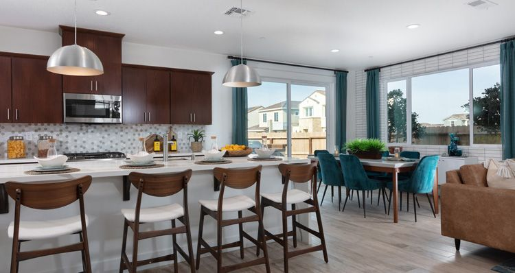 Kitchen featured in the Plan 3 By Woodside Homes in Sacramento, CA