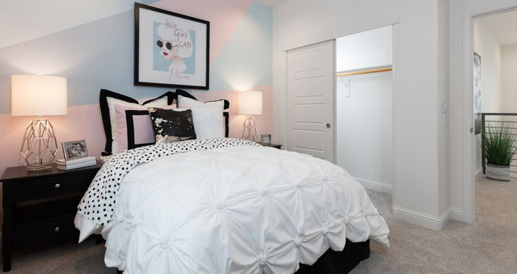 Bedroom featured in the Plan 2 By Woodside Homes in Sacramento, CA