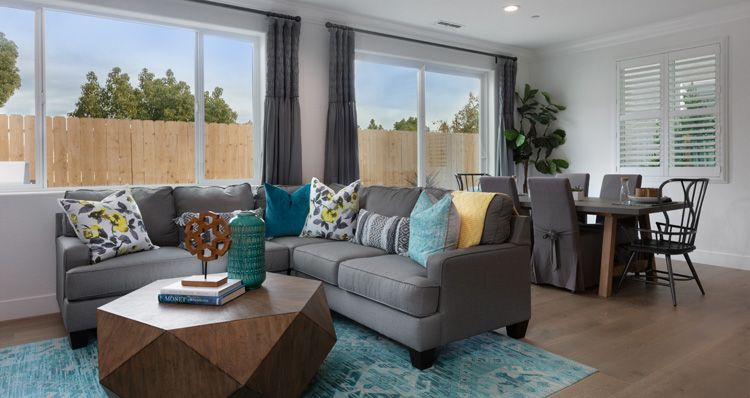 Living Area featured in the Plan 2 By Woodside Homes in Sacramento, CA