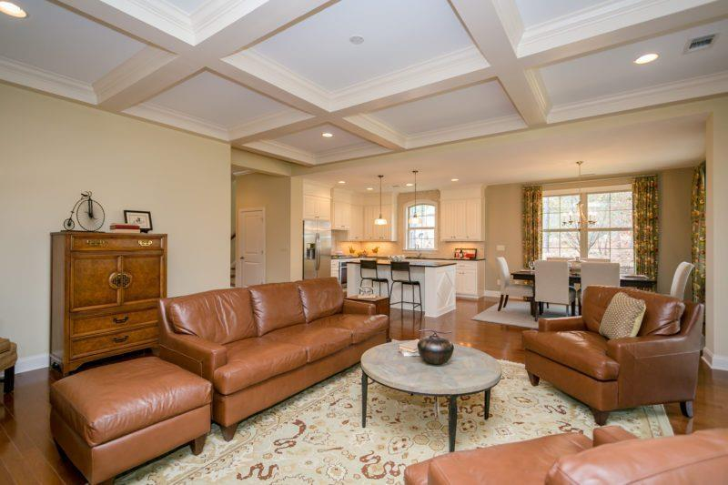 Living Area featured in the Pine Glen Collection-The Pinecrest By Woodside Communities