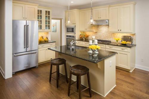 Kitchen-in-Meadows Collection-The Berkshire-at-Woodside Community-in-Aiken